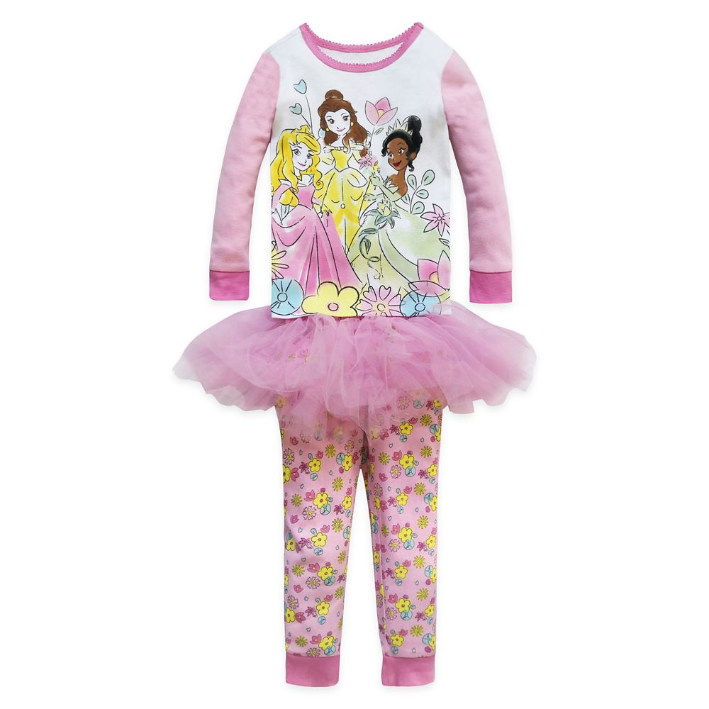 Disney Princess PJ PALS and Tutu Set for Girls