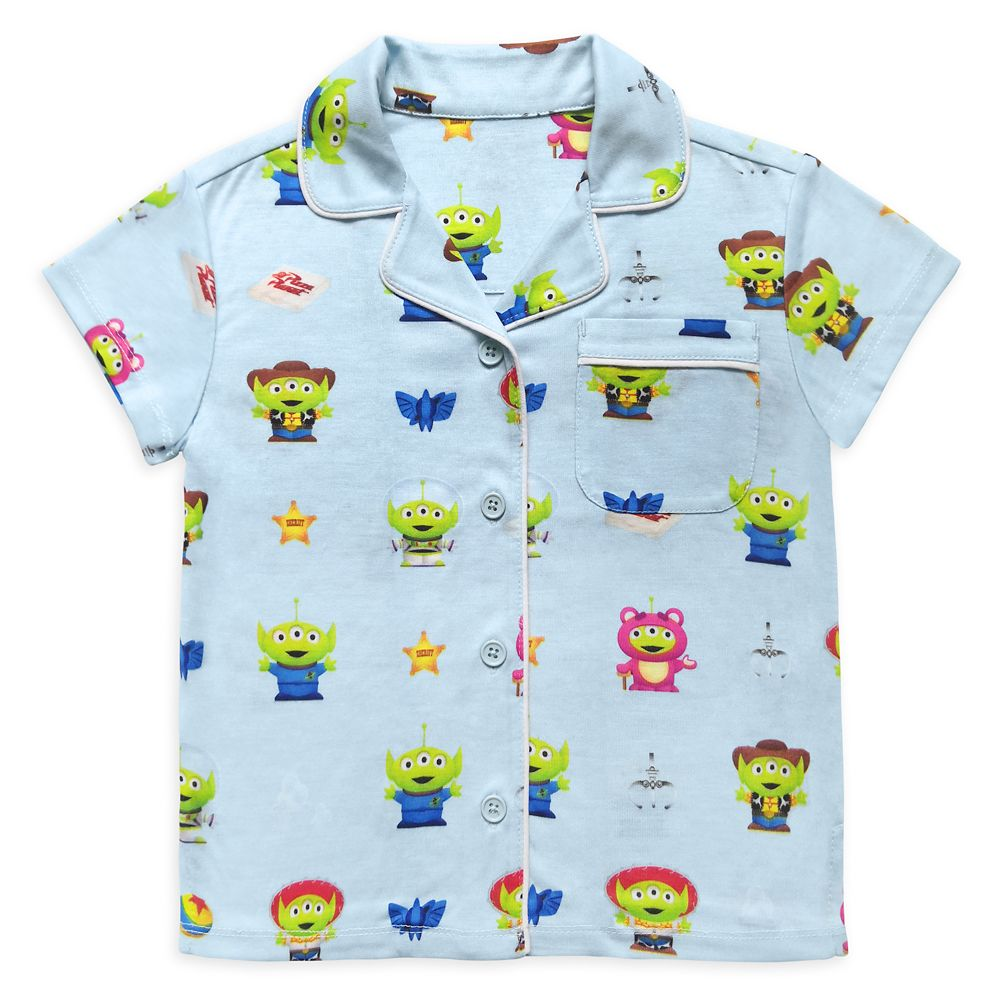 Toy Story Alien Pixar Remix Pajama Set for Girls