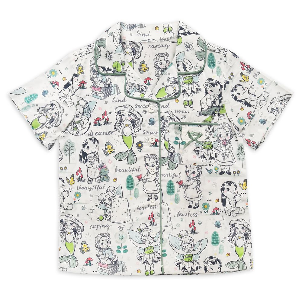 Disney Animators' Collection Pajama Set for Girls and Doll