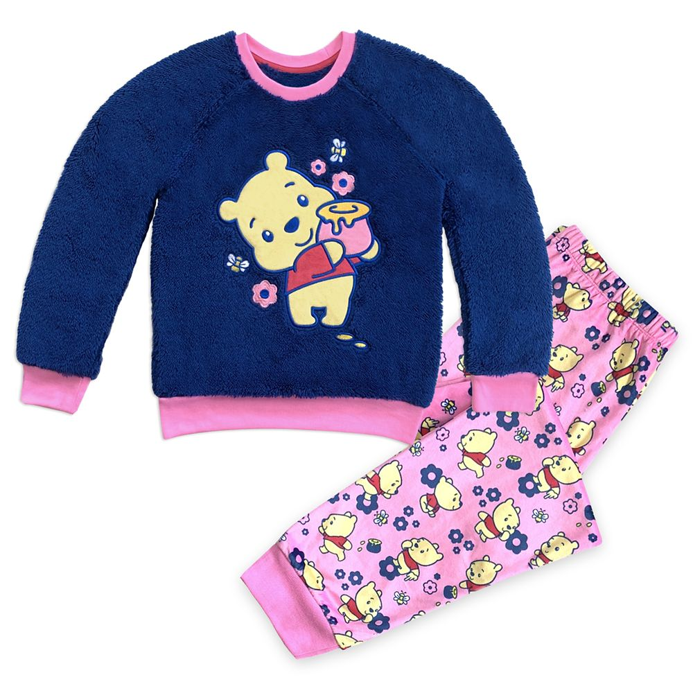 Winnie the Pooh Fleece Pajama Set for Girls