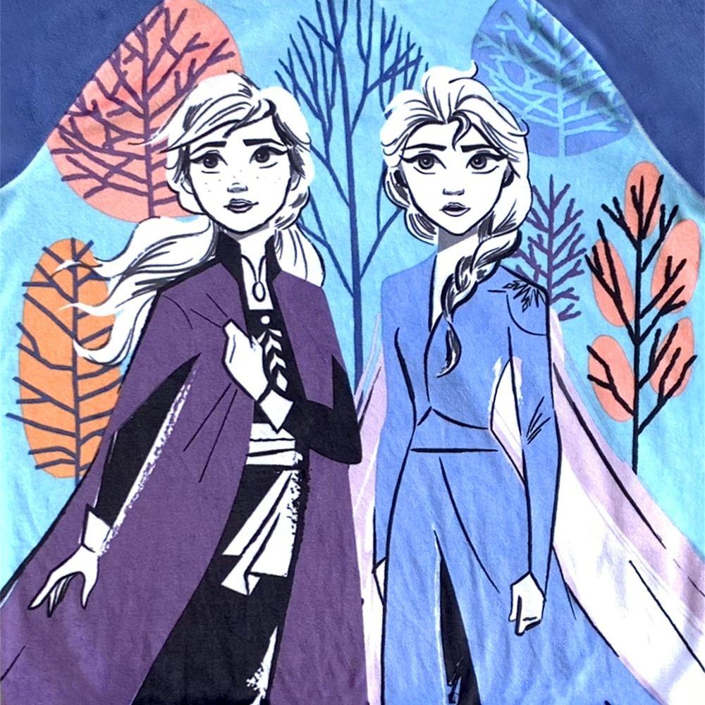Elsa and Anna Velour Pajama Set for Girls – Frozen 2