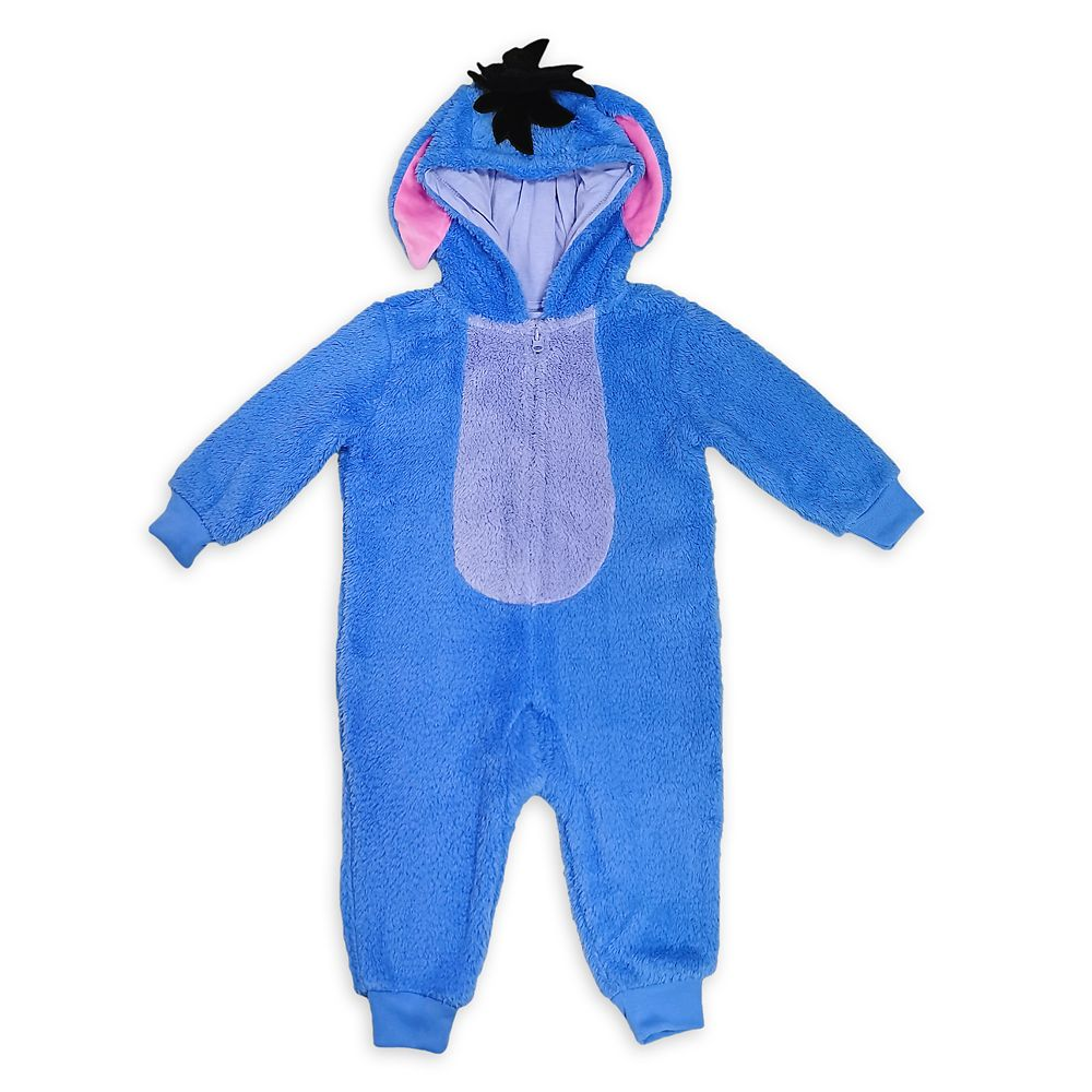 Disney Eeyore Fleece Costume Romper for Toddlers