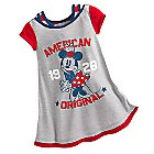 Minnie Mouse Americana Nightshirt  for Girls