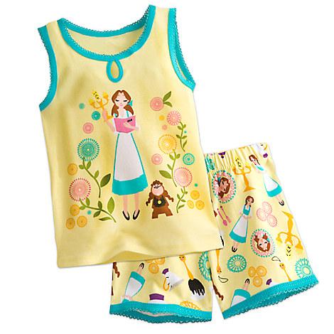 Belle PJ PALS Short Set for Girls