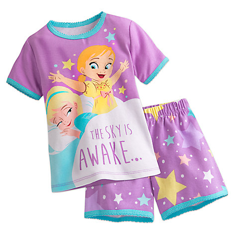 Frozen PJ PALS Short Set for Girls