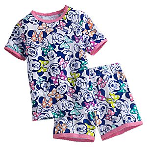 Minnie Mouse PJ PALS Short Set for Girls