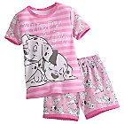 101 Dalmatians PJ PALS Short Set for Girls