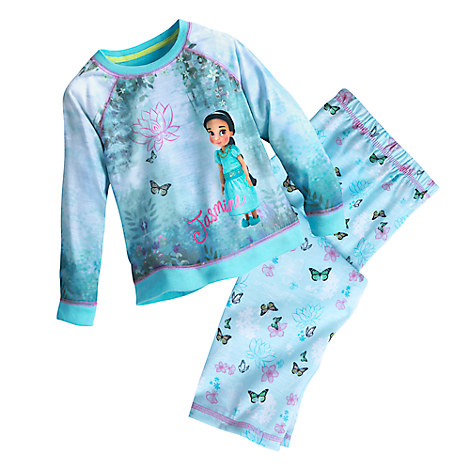 Disney Animators' Collection PJ Gift Set For Kids - Jasmine