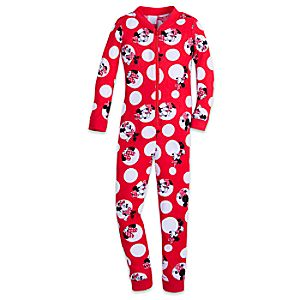 Minnie Mouse One-Piece PJ for Girls 4902057392259M