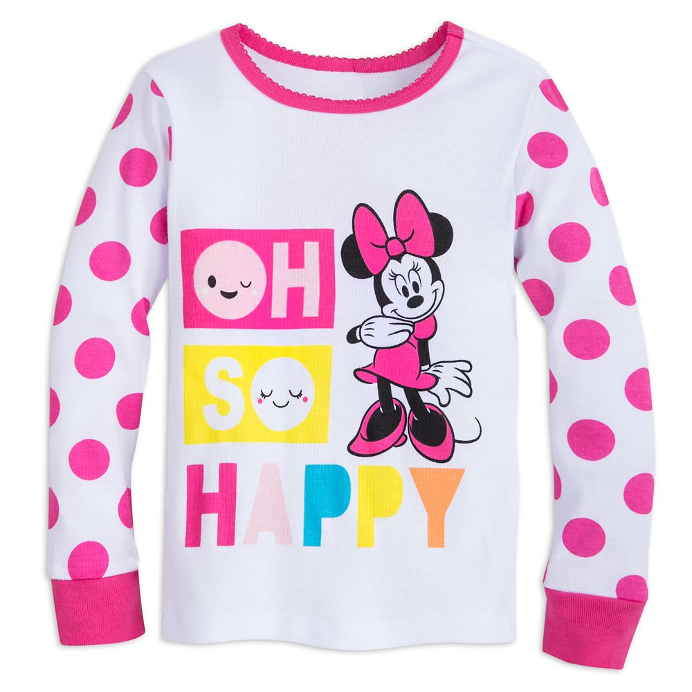 Minnie Mouse ''Oh So Happy'' PJ PALS for Girls