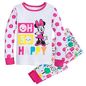 Image of Minnie Mouse ''Oh So Happy'' Pajamas for Girls