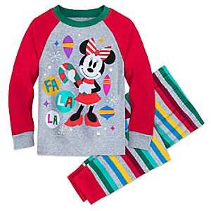 Image of Minnie Mouse Christmas Pajamas for Girls