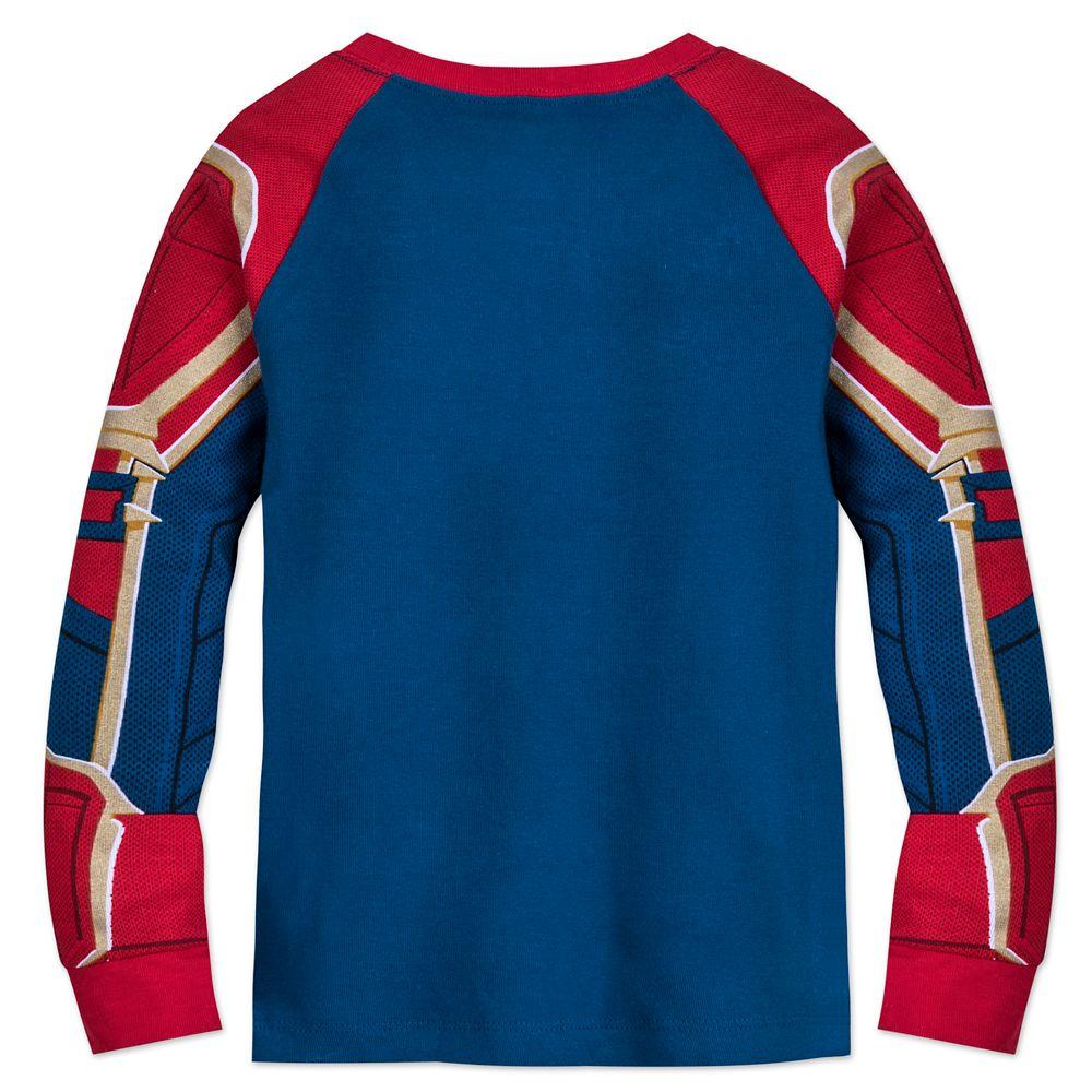 Marvel's Captain Marvel Costume PJ PALS for Girls