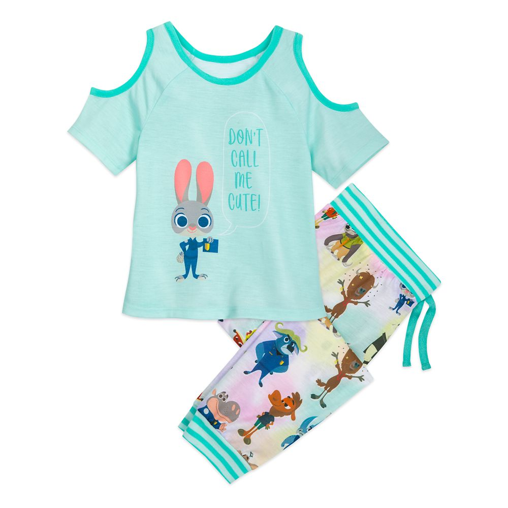 Judy Hopps Pajama Set for Girls – Zootopia