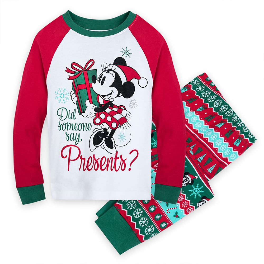 Minnie Mouse Holiday PJ PALS for Girls