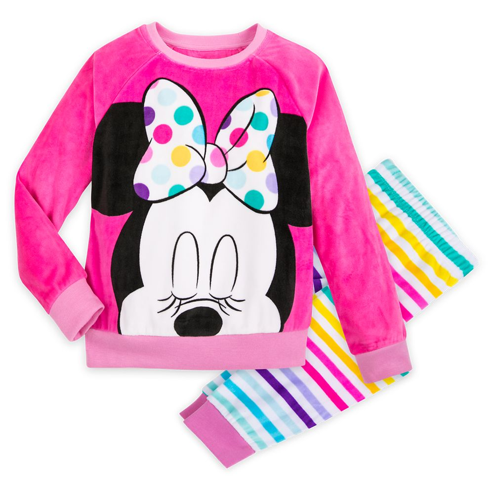 Minnie Mouse Pajama Gift Set for Girls