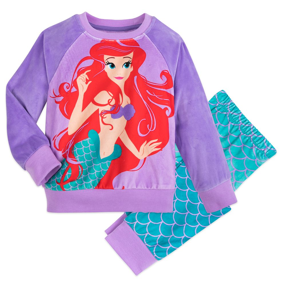Ariel Pajama Gift Set for Girls
