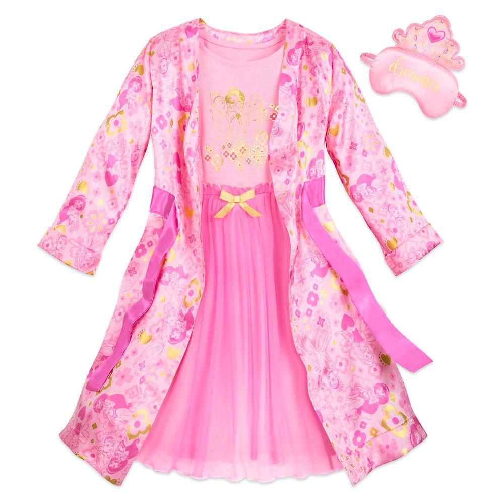 Disney Princess Deluxe Sleepwear Set for Girls