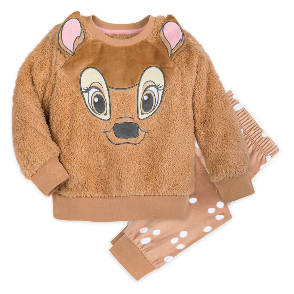 Bambi Pajama Set for Girls