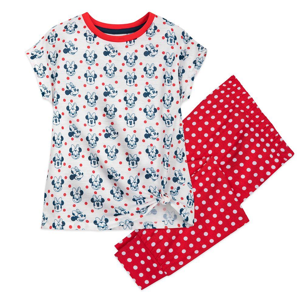 Minnie Mouse  Sleep Set for Girls