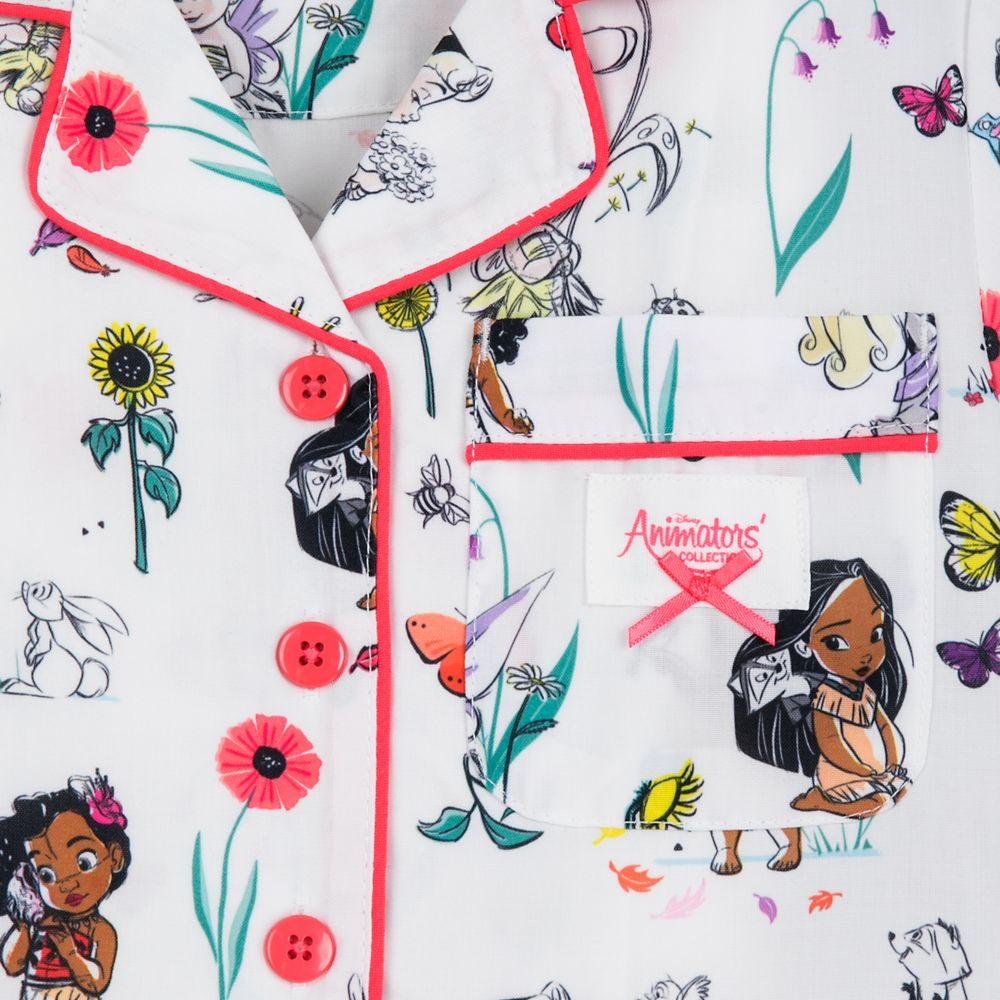 Disney Animators' Collection Matching Pajama Set for Kids and Doll
