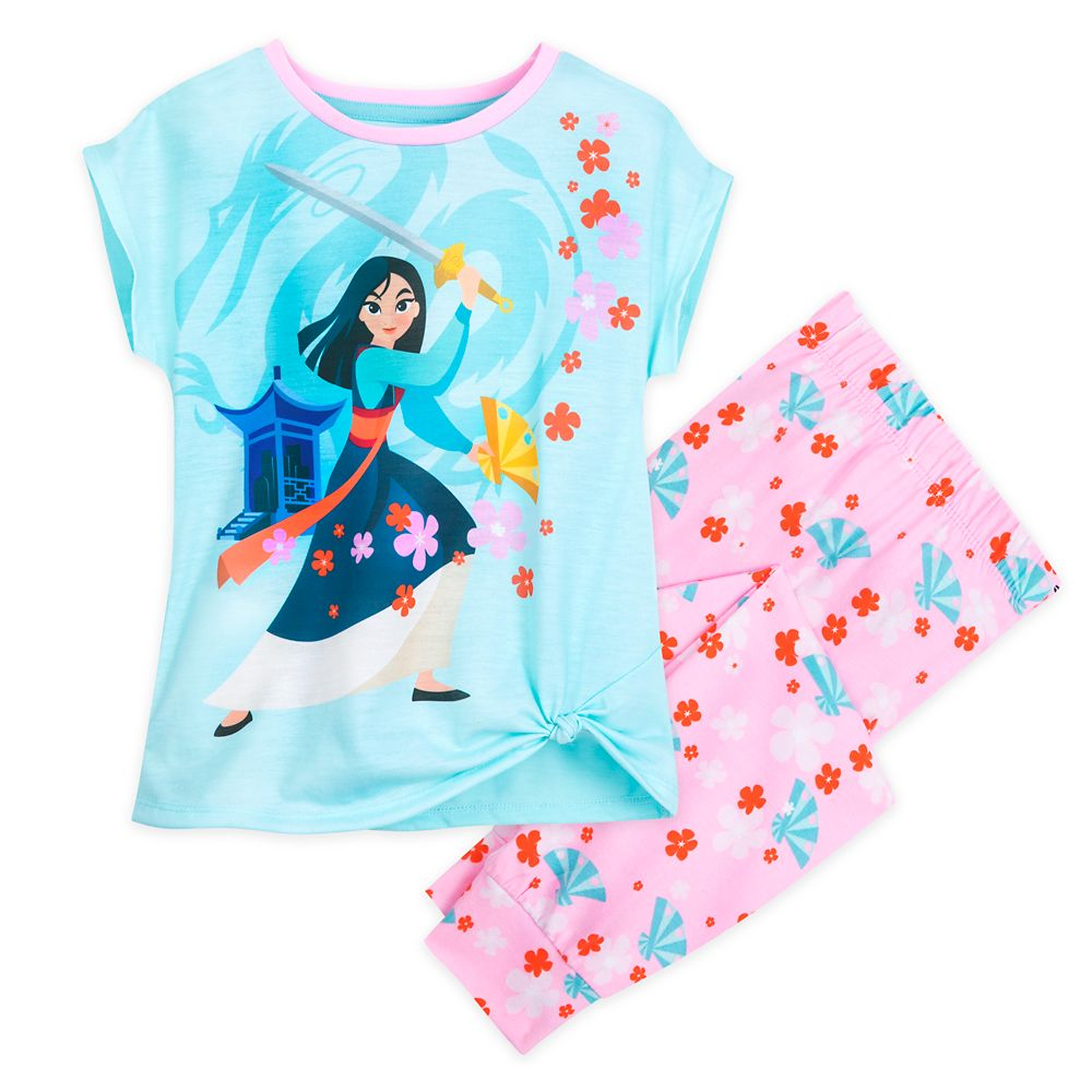 Mulan Sleep Set for Girls