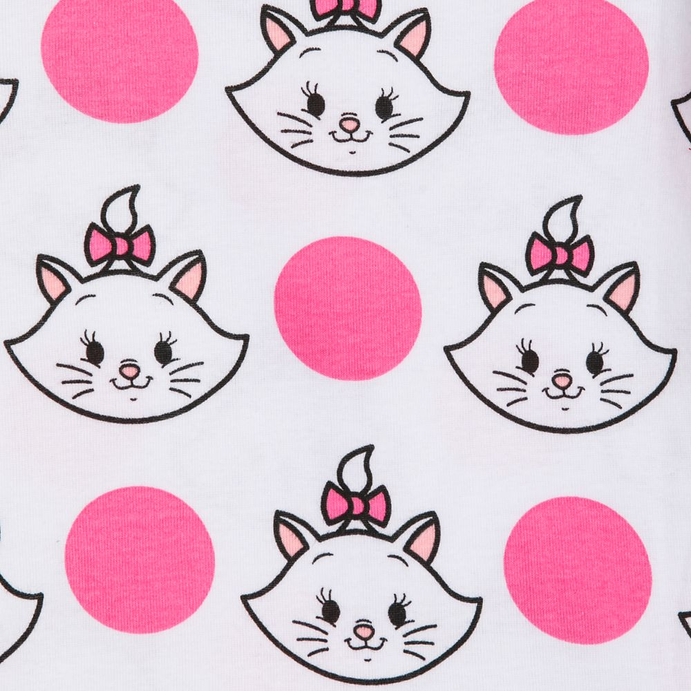 Disney Store Marie Aristocats Sleepwear Pajamas Girls  3 4 5 6 7 8  10 PJ Pals