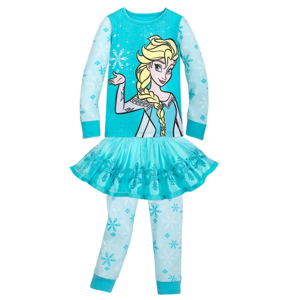 Disney Elsa PJ PALS and Tutu Set for Girls ? Frozen
