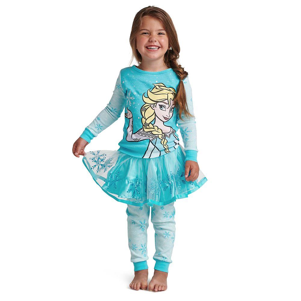 Elsa PJ PALS and Tutu Set for Girls – Frozen