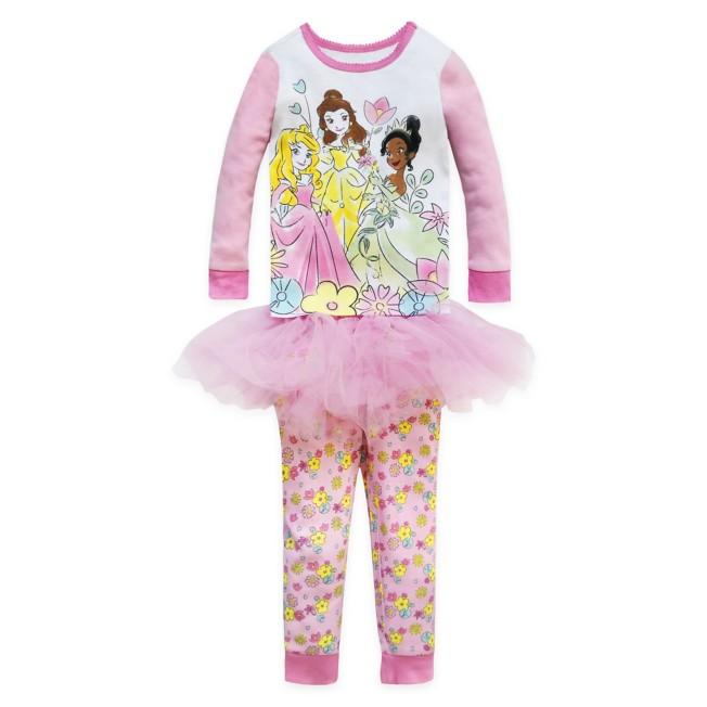 Disney Princess PJ PALS and Tutu Set for Girls