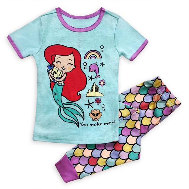 The Little Mermaid PJ PALS for Girls