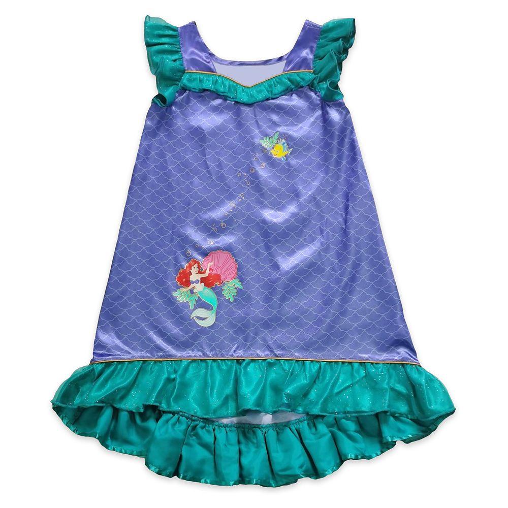 Disney Ariel Sleep Gown for Girls ? The Little Mermaid