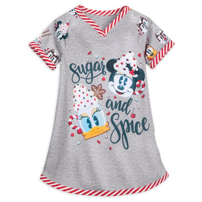 Minnie Mouse and Friends Holiday Nightshirt for Girls