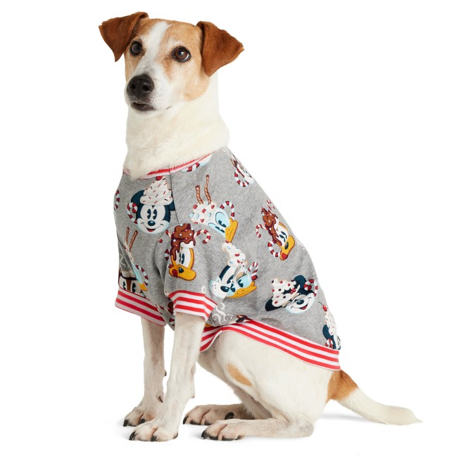 Mickey Mouse and Friends Holiday Pajama Top for Pets