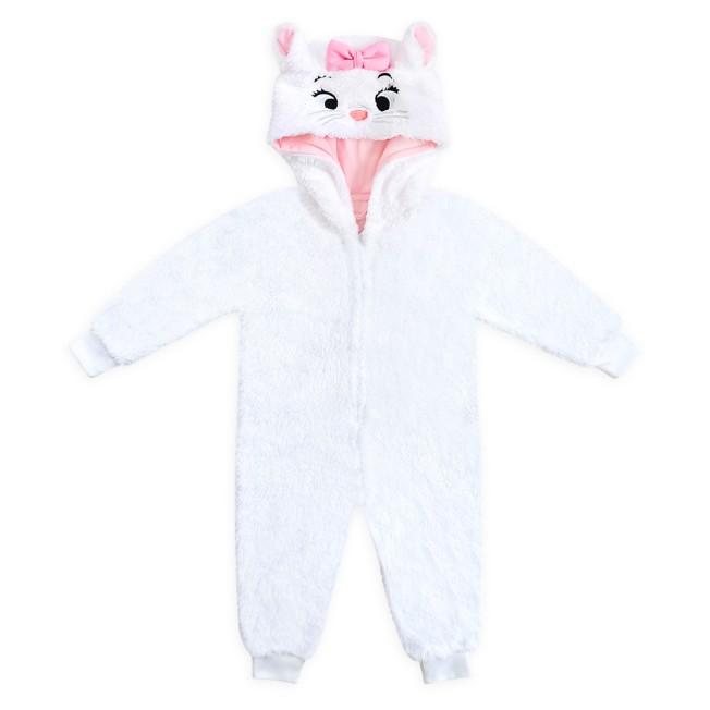 Marie Costume Bodysuit Pajamas for Kids – The Aristocats