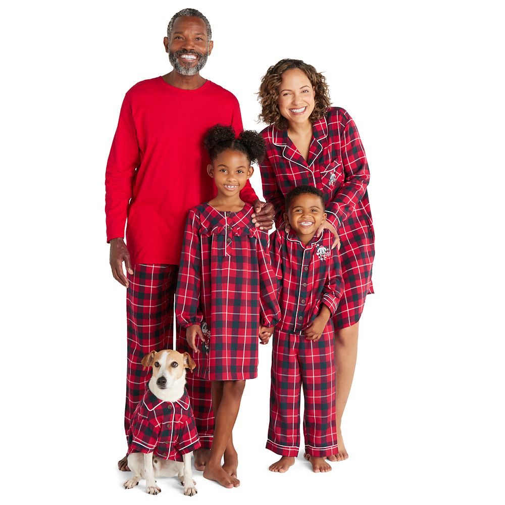 Pluto Holiday Plaid Flannel Shirt for Dogs – Personalized