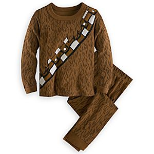 Chewbacca Costume PJ PALS for Kids