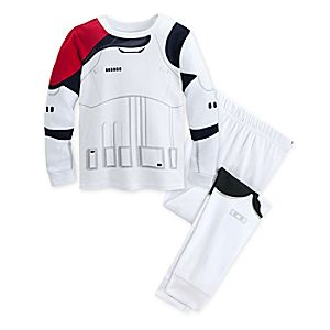 Stormtrooper PJ PALS for Kids - Star Wars: The Force Awakens 4903057391788M