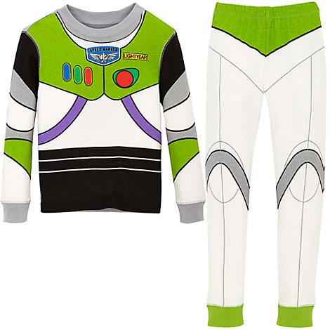 Buzz Lightyear Costume PJ PALS for Boys
