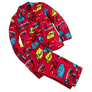 Cars Pajama Set for Kids - Personalizable