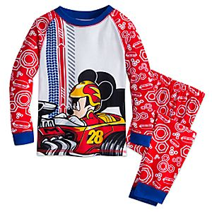 Mickey Mouse Racer PJ PALS for Boys 4903046862078M
