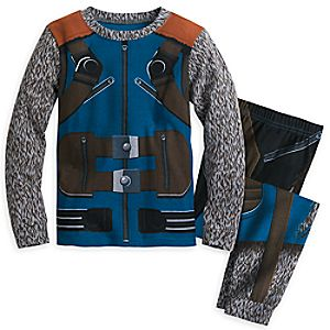 Rocket Raccoon Costume PJ PALS Set for Boys - Guardians of the Galaxy Vol. 2