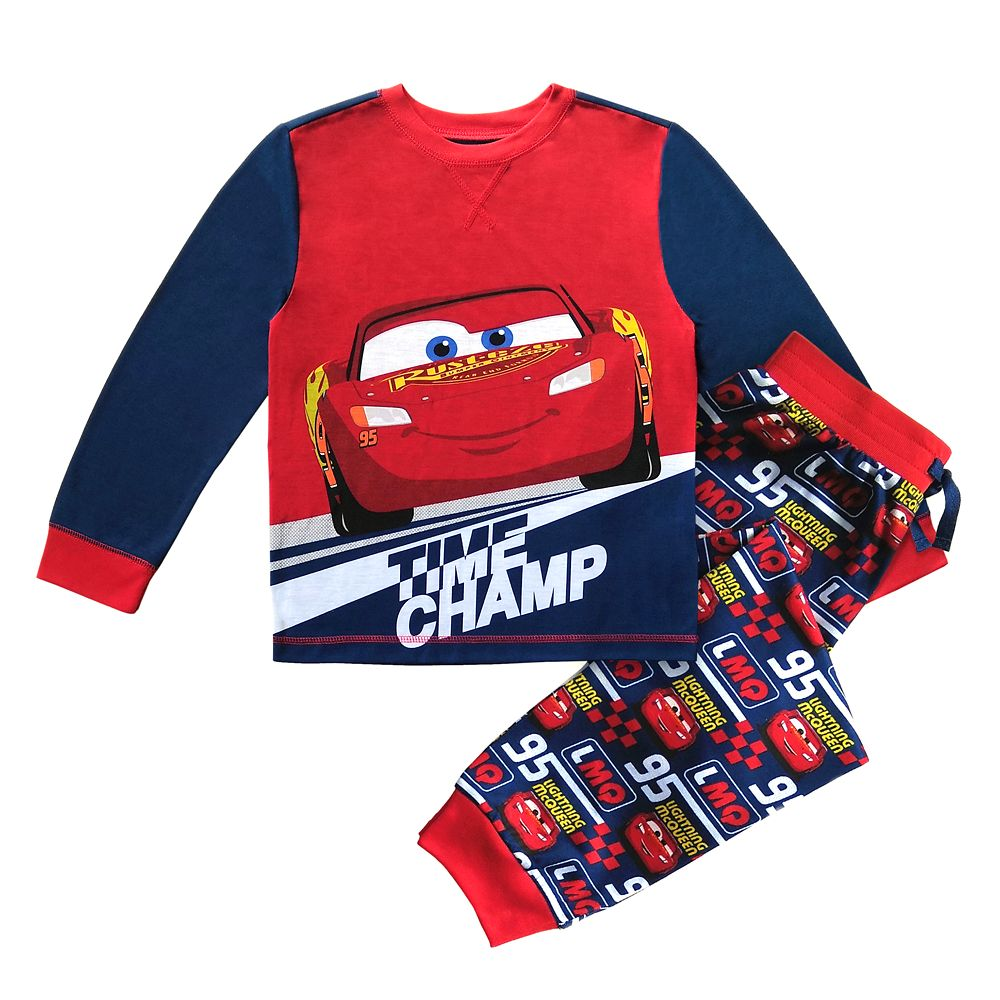 Lightning McQueen Pajama Set for Boys