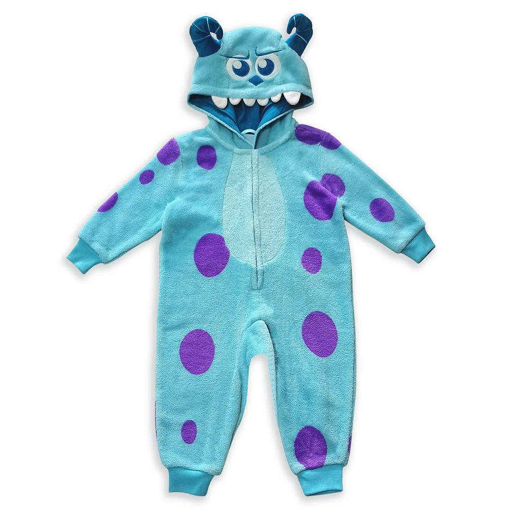 Sulley Costume Pajama for Toddlers – Monsters, Inc.
