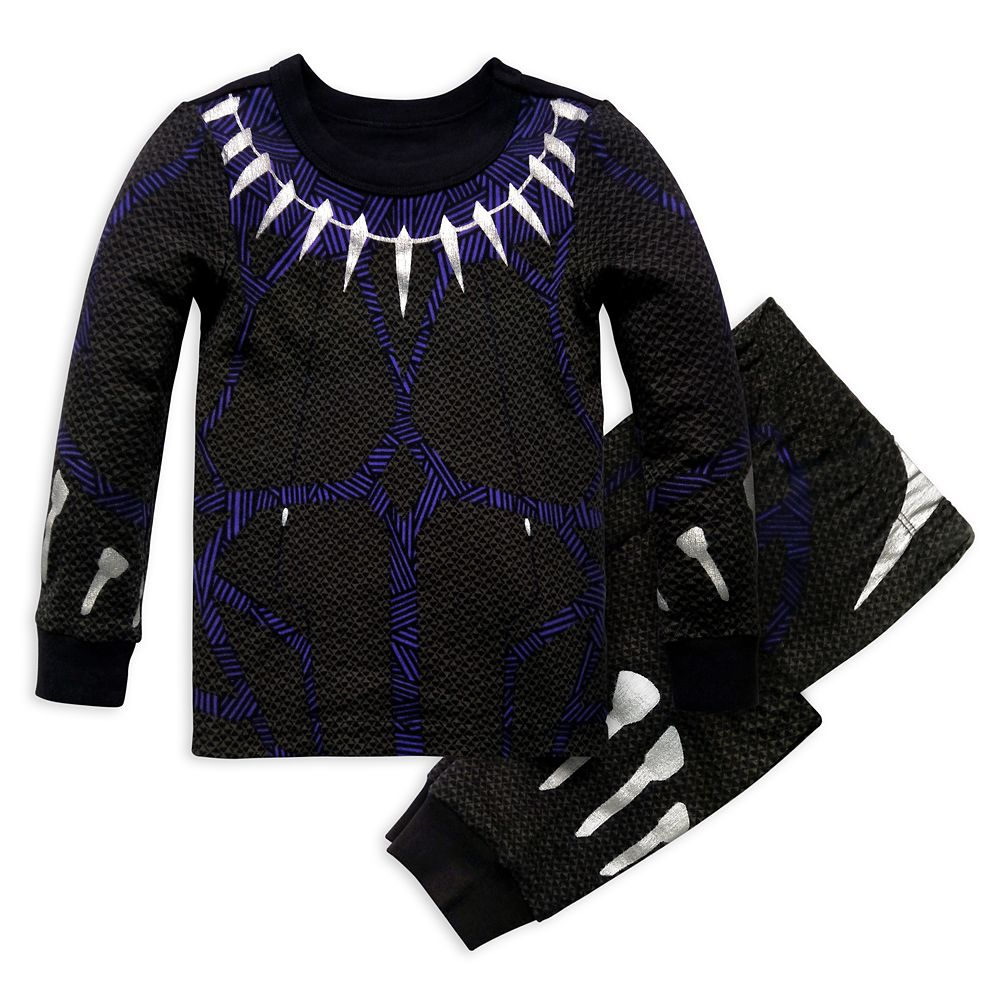 Black Panther Costume PJ PALS for Boys