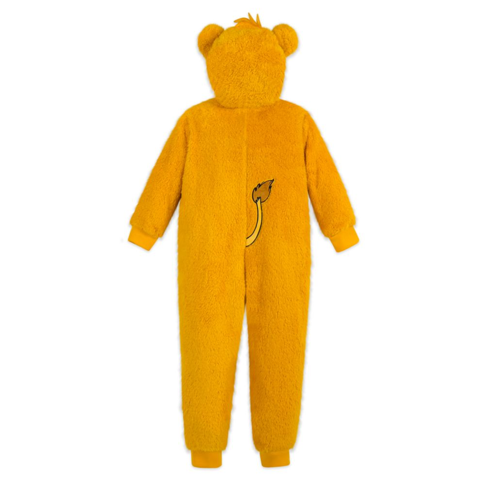 Simba Fleece Bodysuit Pajamas for Kids