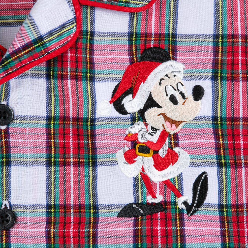 Mickey Mouse Holiday Plaid PJ Set for Boys
