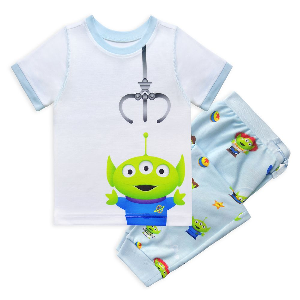Toy Story Alien Pixar Remix Pajama Set for Boys