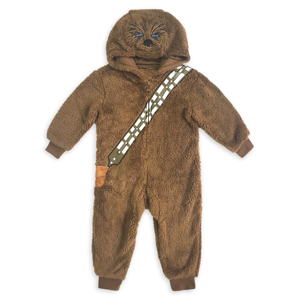 Chewbacca Costume One-Piece Pajama for Kids – Star Wars