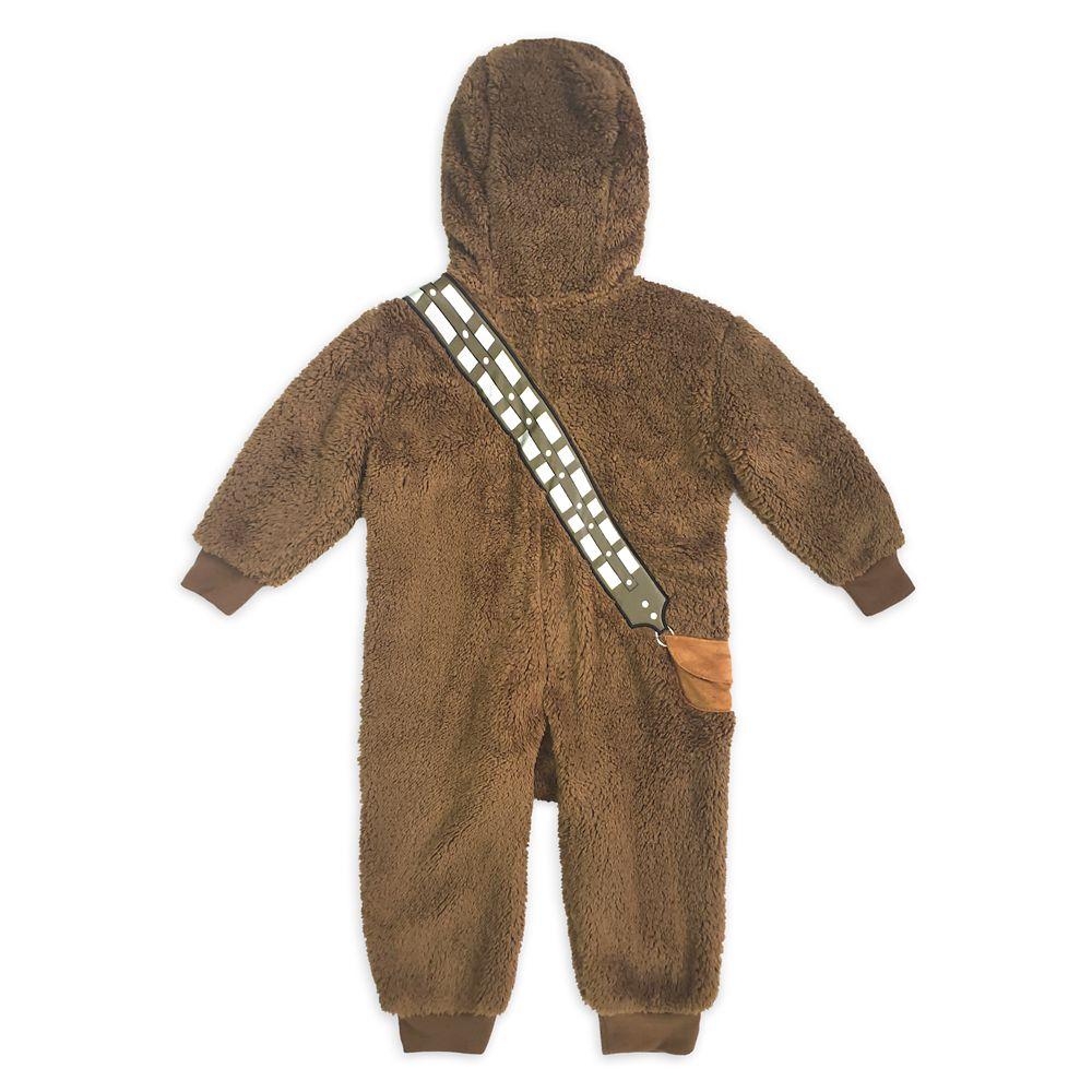 Chewbacca Costume One-Piece Pajama for Kids – Star Wars